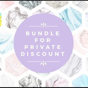 Other - ~Add items to a bundle for your own private offer~